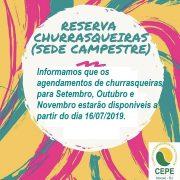 RESERVA DE CHURRASQUEIRAS