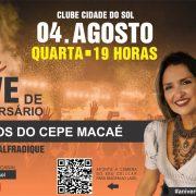 LIVE DE ANIVERSÁRIO DO CEPE-MACAÉ